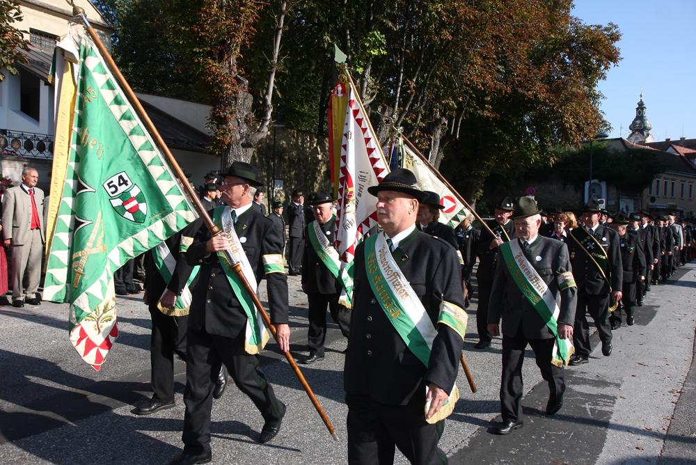Mehr als 400 Kameraden des ÖKB nahmen an der Landeswallfahrt teil.