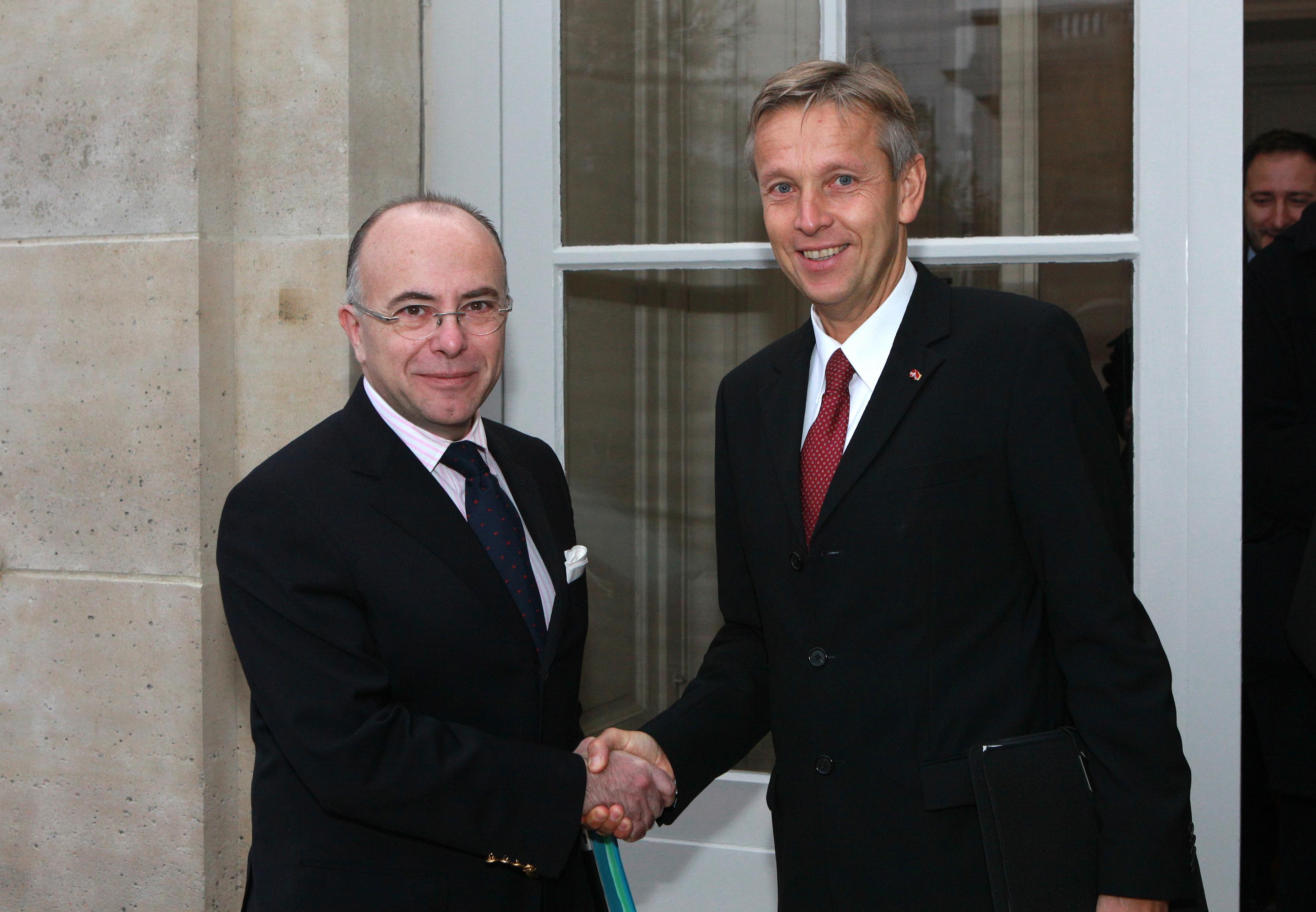 © BMEIA, STS Lopatka trifft den französischen Europaminister Bernard Cazeneuve in Paris