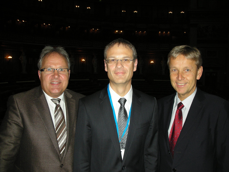 © BMEIA, Hermann Gahr, ÖVP-Südtirolsprecher und Obmann des Südtirol-Unterausschusses, DDr. Walter Obwexer und STS Reinhold Lopatka