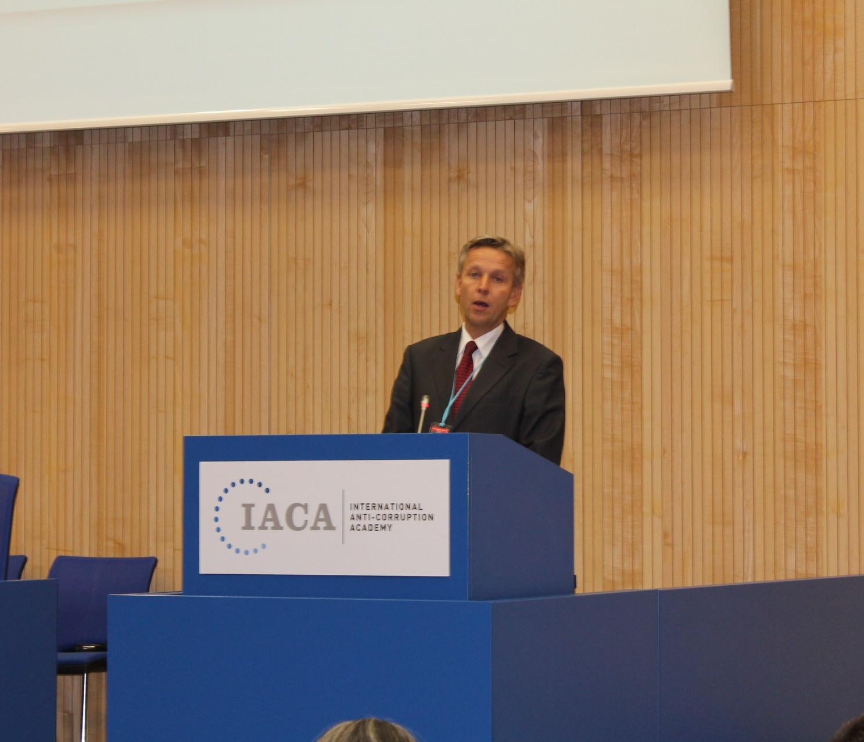 (c) BMEIA, STS Lopatka bei erster Vertragsstaatenkonferenz der IACA
