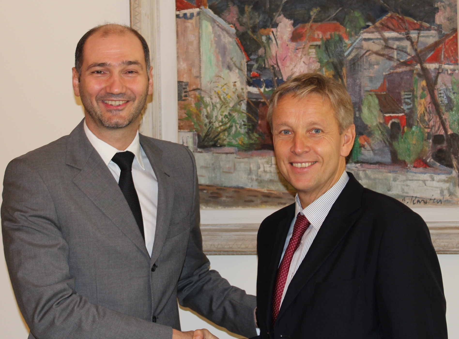 (c) BMEIA, Staatssekretär Lopatka trifft den stellvertretenden kroatischen Außenminister Klisović in Zagreb