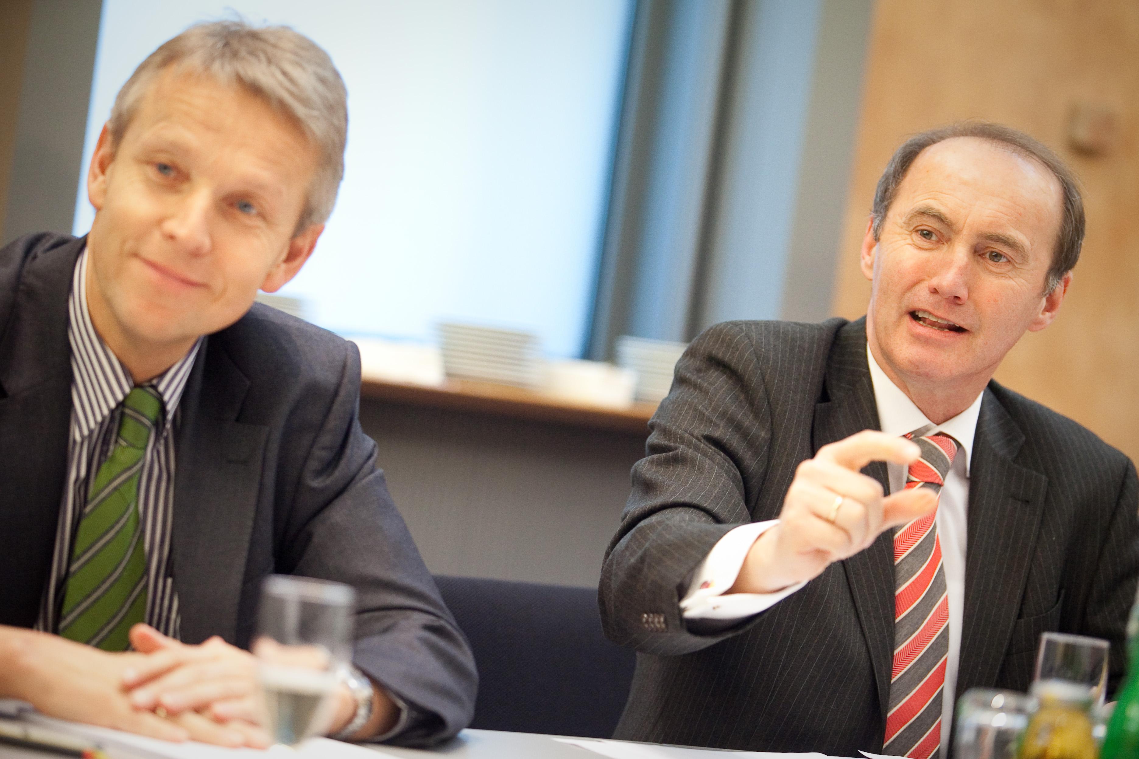 Vizepräsident des Europäischen Parlaments Othmar Karas