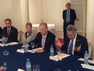 (c) BMEIA, Staatsbesuch in Argentinien, mit HBP Heinz Fischer, BM Reinhold Mitterlehner, Margit Fischer, STS Lopatka