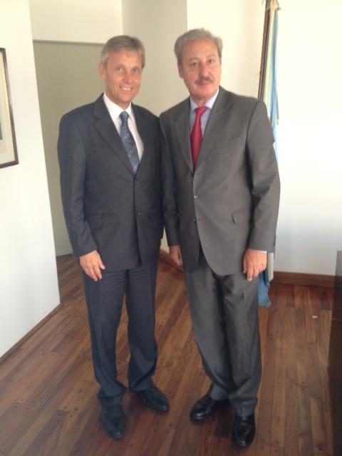 (c) BMEIA, Guillermo Rodolfo Oliveri, argentinischer Kulturstaatssekretär und STS Lopatka