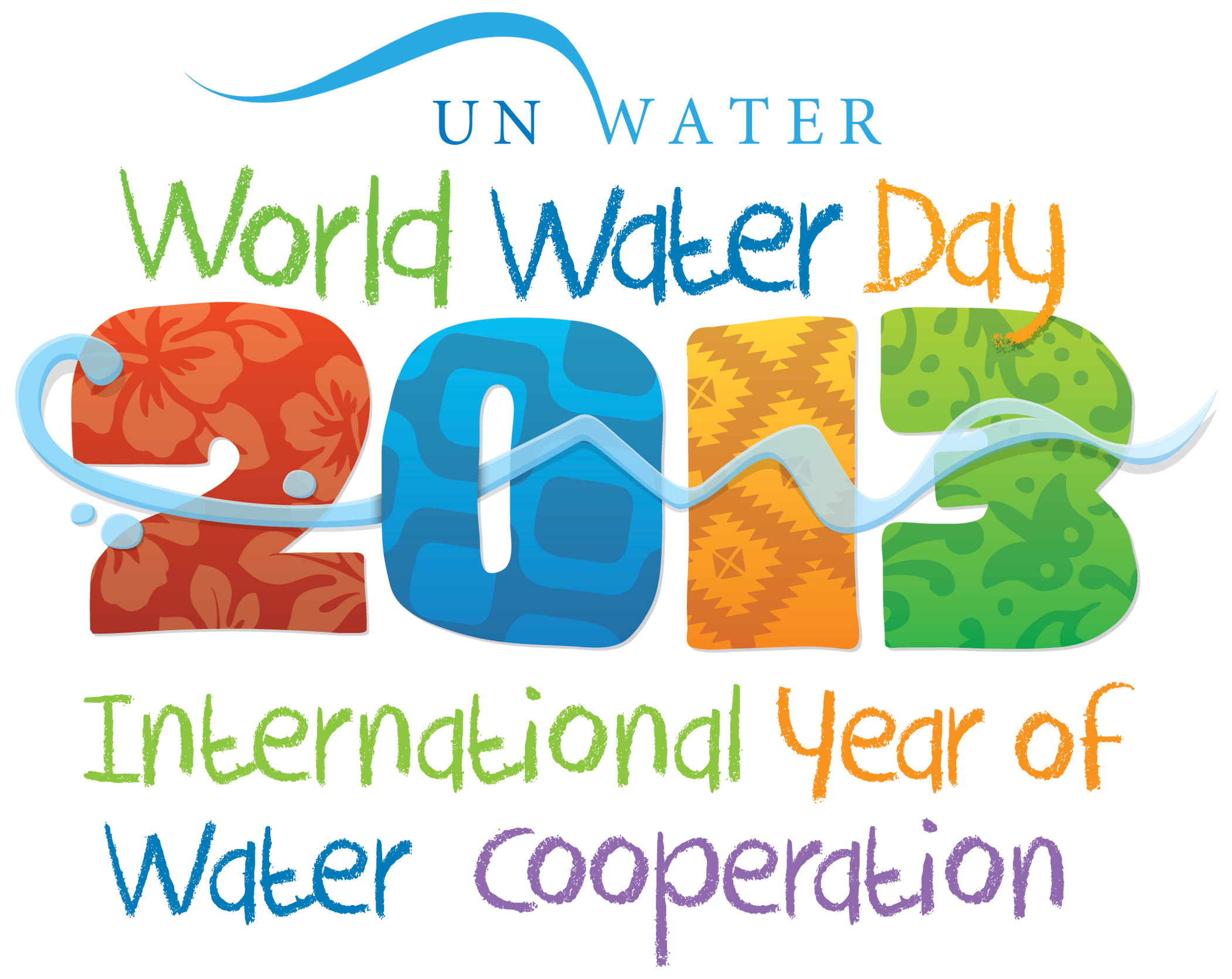 (c) Official UNO logo for the World Water Day 2013