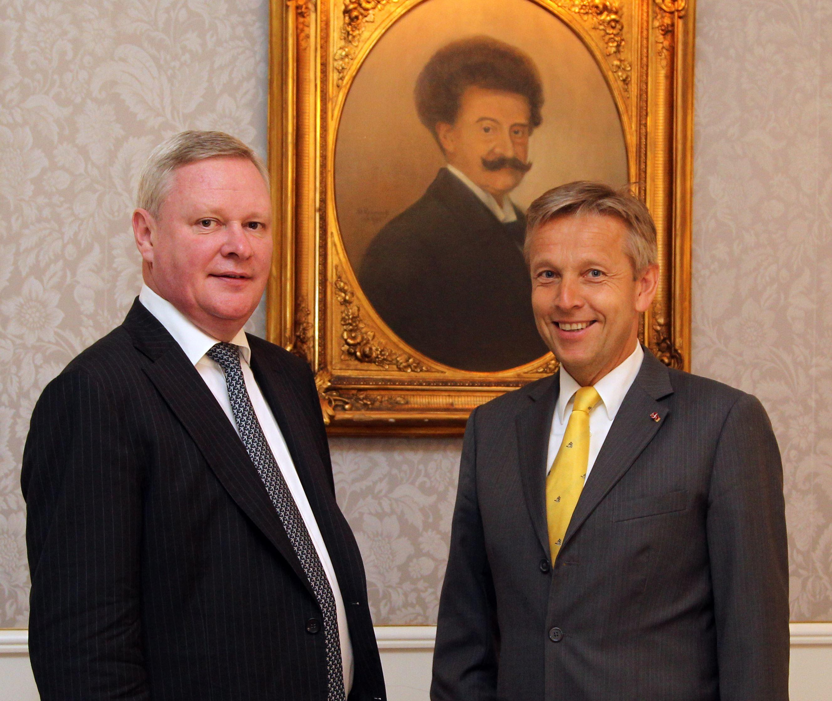 (c) BMEIA, STS Lopatka mit dem Vizeaußenminister der Russischen Föderation, Wladimir Titow