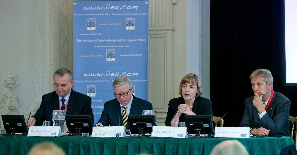 (c) BMEIA, STS Lopatka bei der EU-Westbalkan-Konferenz in Dublin
