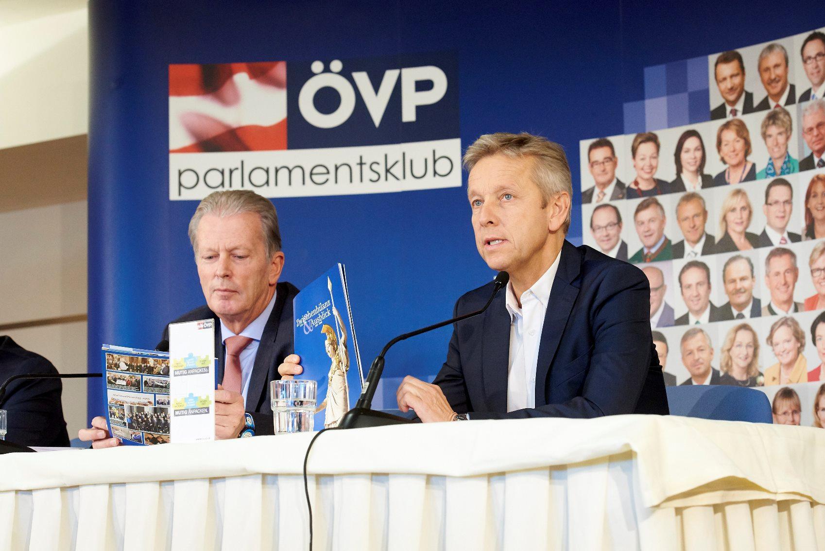 (c) ÖVP-Klub / Sabine Klimpt