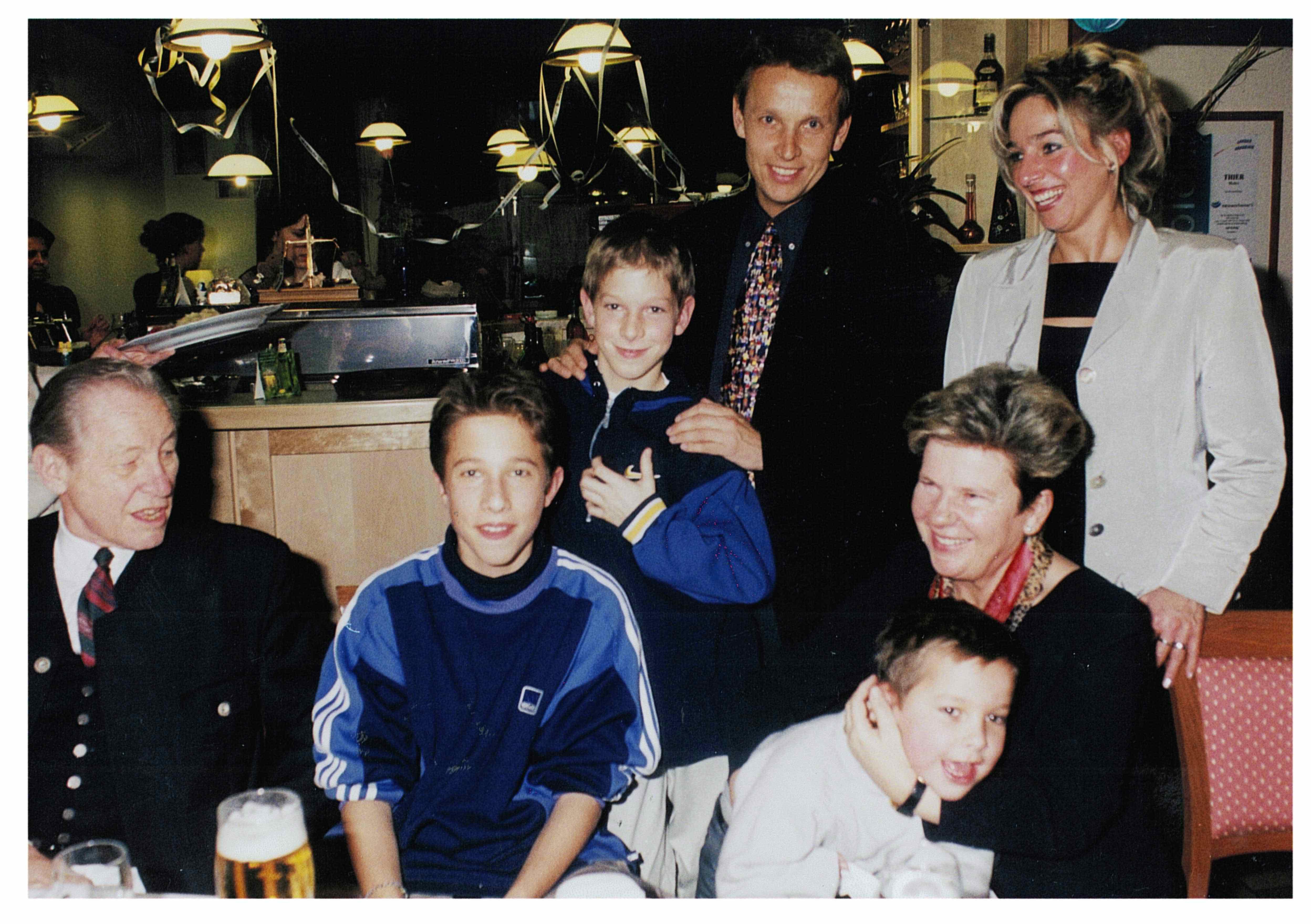 Familie Lopatka mit Waltraud Klasnic