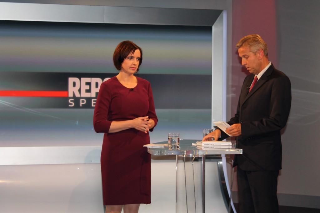c)BMeiA, StS Loptaka bei ORF Report