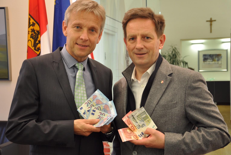Mit Landesrat Christian Benger (c) ÖVP-Landtagsclub Kärnten