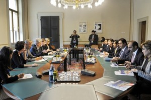Besuch einer Delegation aus Kuwait