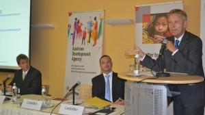 (c) BMEIA, STS Lopatka und MArtin Ledolter bei der ADA-Jahrestagung