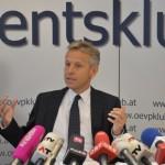 (C) ÖVP Klub; Pressekonferenz im ÖVP-Klub
