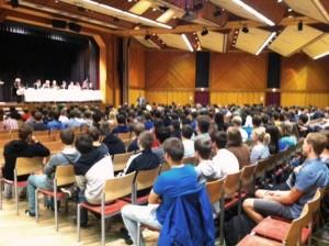 (c)ÖVP, StS Lopatka bei Schülerdiskussion zur Nationalratswahl