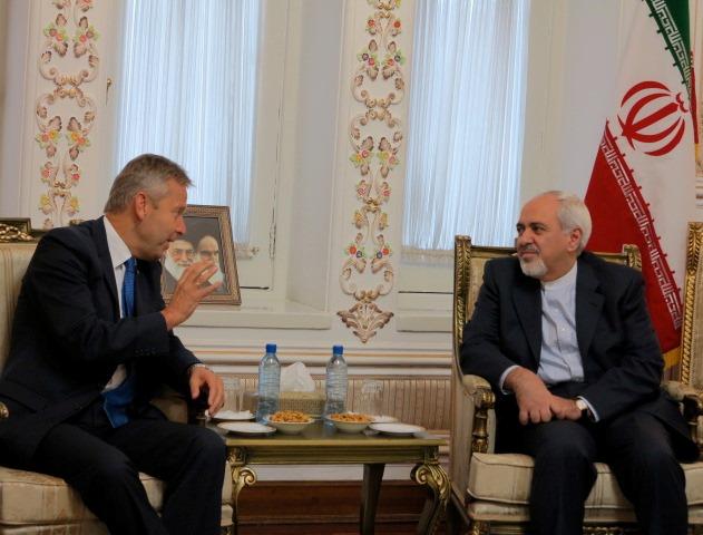 (c)BMeiA, StS Lopatka mit AM Zarif in Teheran