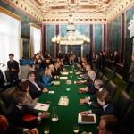 ©ÖVP/ Fotograf: George Schneider; Auftakt Regierungsverhandlungen 2013