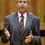 © Parlamentsdirektion/Mike Ranz, Lopatka im Parlament