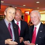 (c)ÖVP, Lopatka mit Fußballtrainer Giovanni Trapattoni