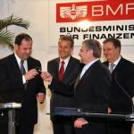 © BMF/Christandl, Übergabe BMF von Molterer an Pröll