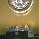 © Pöllauer, Lopatka vor der UNO in New York