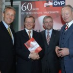 © ÖVP, Buchpräsentation 50 Jahre ÖVP mit BK Schüssel, KO Molterer und NR-Präs. Khol