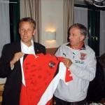 © ÖVP, Lopatka mit ÖFB Trainer Josef Hickersberger