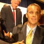 © ÖVP, Lopatka mit US-Präsident Bill Clinton