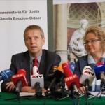 © BMJ, Lopatka mit Justizministerin Bandion-Ortner