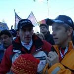 © ÖVP, Lopatka mit Olympiasieger Markus Prock
