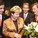 © ÖVP, Lopatka mit Bgm Nagl, Landeshauptfrau Waltraud Klasnic und Bundeskanzler Schüssel
