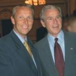 © ÖVP, Lopatka mit US-Präsident George W. Bush
