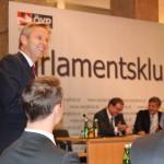 (c)BMeiA, Lopatka zum ÖVP Klubobmann gewählt