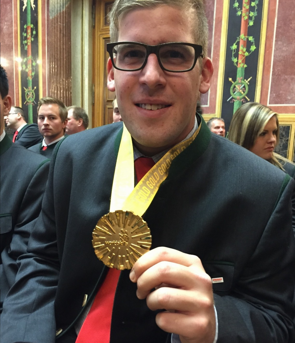 Michael Haydn (Weltmeister im Betonbau) - (c) ÖVP Klub